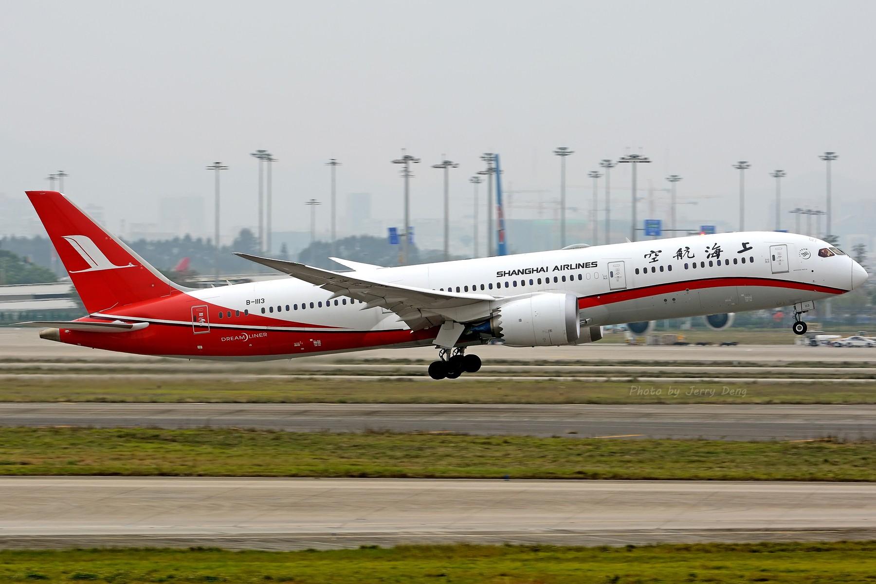 Re:[原创]【多图党】CAN作业水泥天解决有无—皖A·MU350 BOEING 787-9 B-1113 中国广州白云国际机场