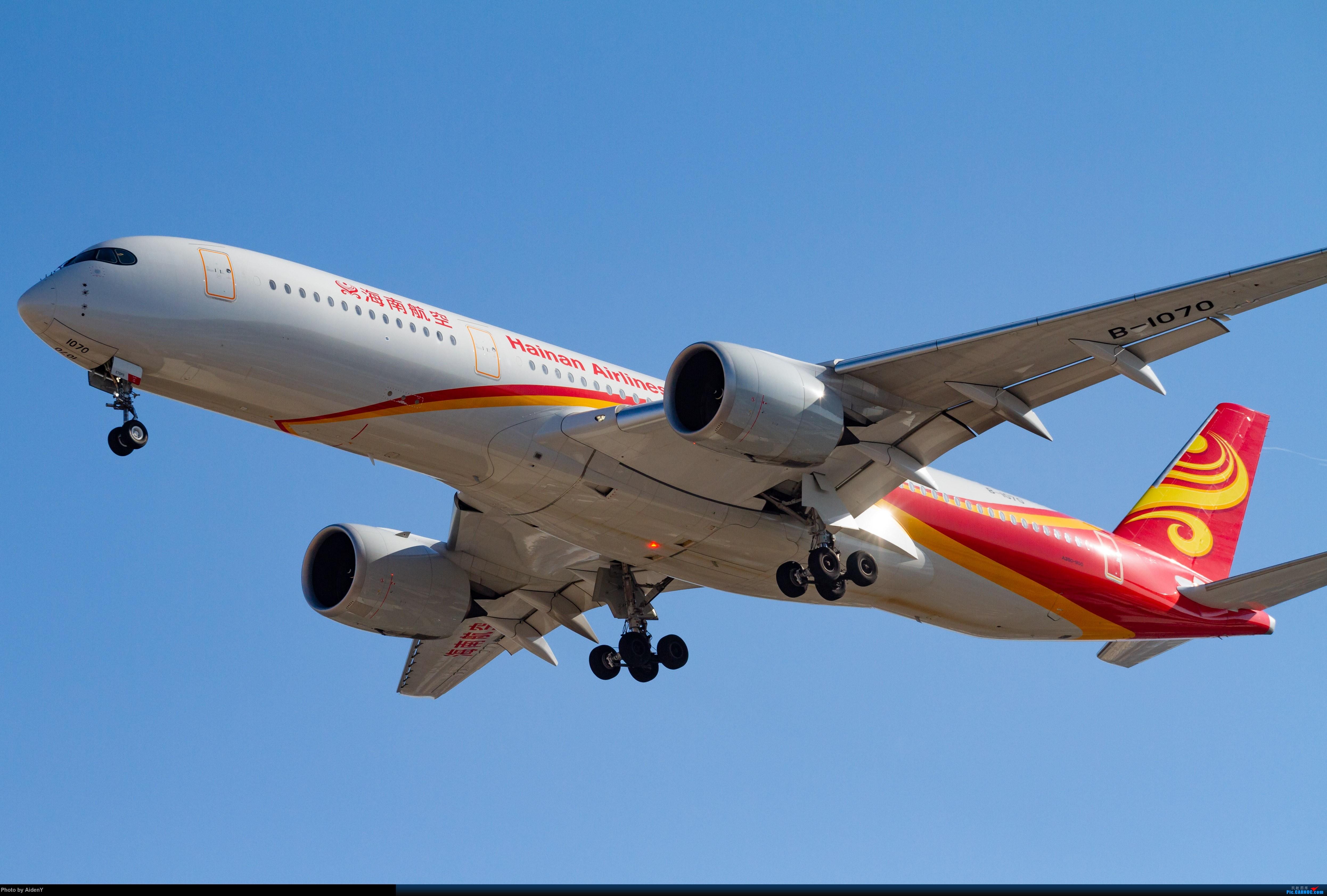 Re:[原创]「1月21日」首都蓝天——还是有的 AIRBUS A350-900 B-1070 中国北京首都国际机场