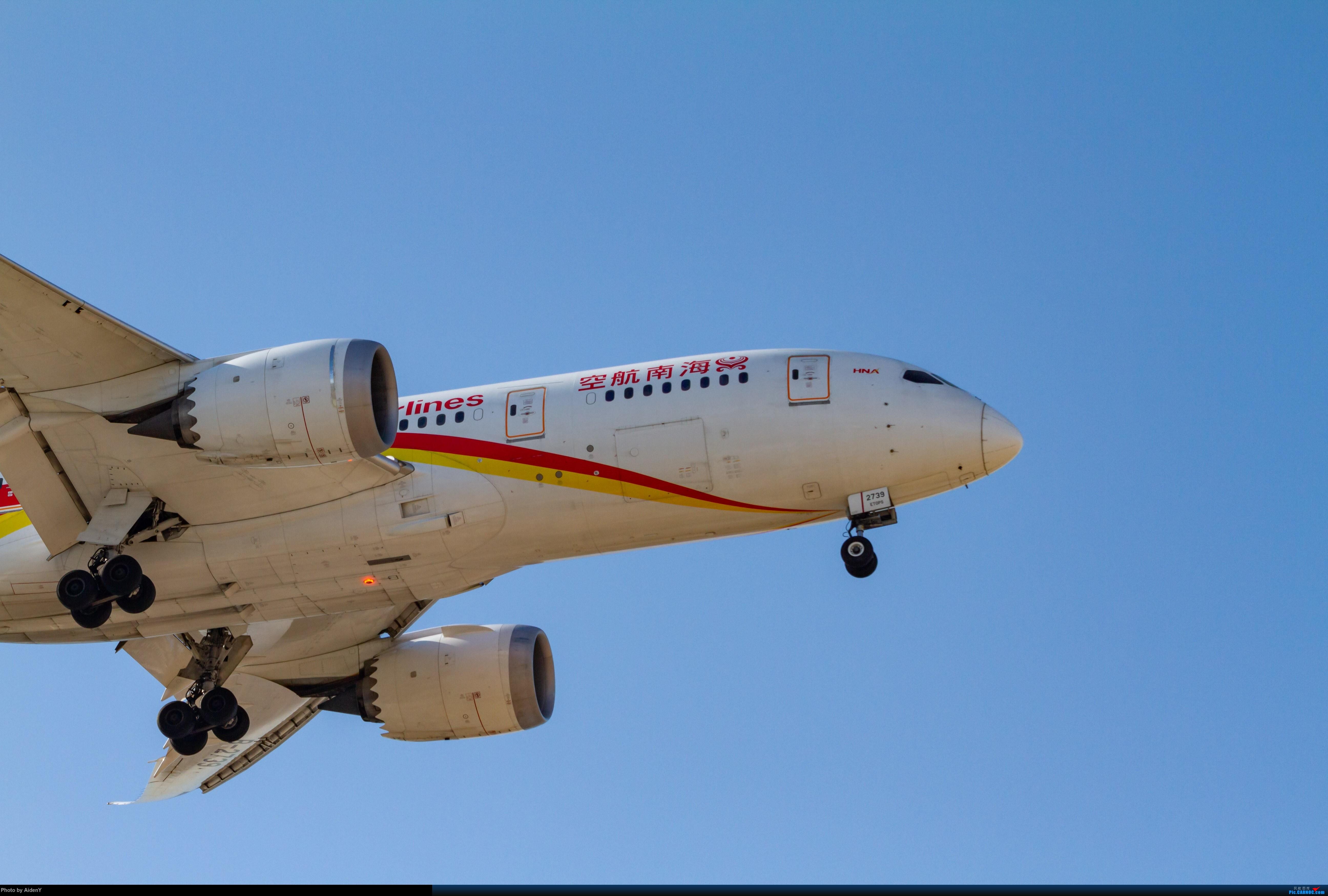 Re:[原创]「1月21日」首都蓝天——还是有的 BOEING 787-8 B-2739 中国北京首都国际机场