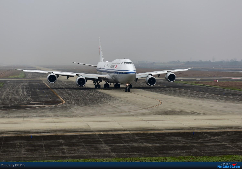 [原创]-CTU-国航748准备起飞 BOEING 747-8I B-2482 中国成都双流国际机场