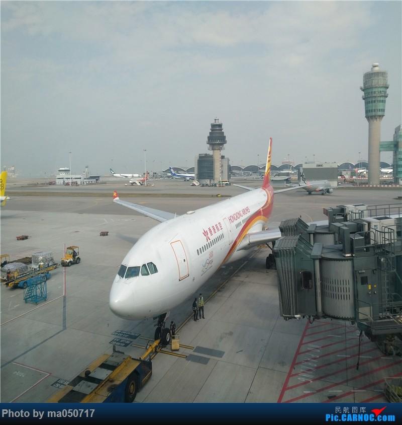 Re:[原创]【CurryMa游记5】 香港航空HX610 香港-东京成田 A330-343E AIRBUS A330-300 B-LNT 中国香港国际机场