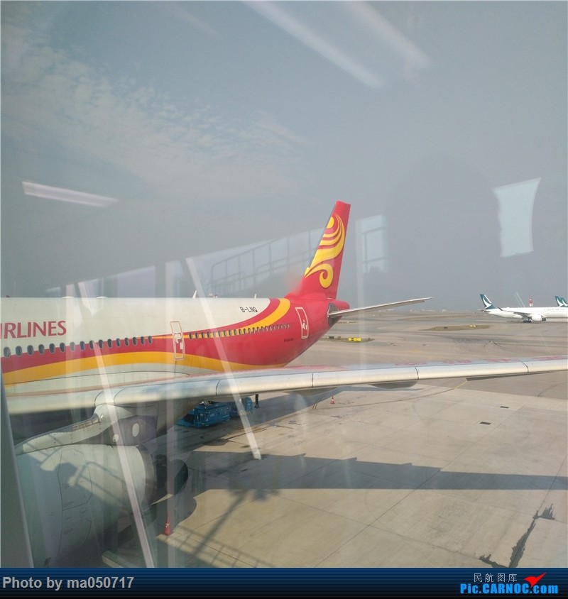 Re:[原创]【CurryMa游记5】 香港航空HX610 香港-东京成田 A330-343E AIRBUS A330-300 B-LNQ 中国香港国际机场