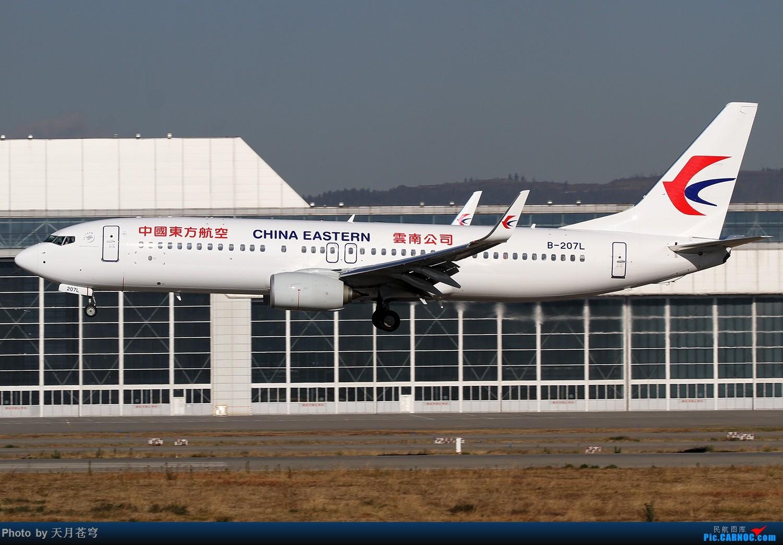 Re:[原创]【KMG】2019年第一次拍机 BOEING 737-800 B-207L 中国昆明长水国际机场