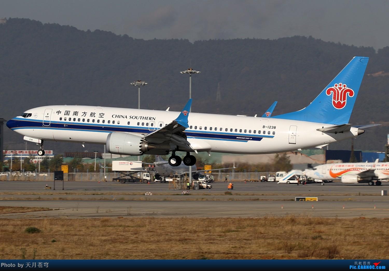Re:[原创]【KMG】2019年第一次拍机 BOEING 737MAX-8 B-1238 中国昆明长水国际机场