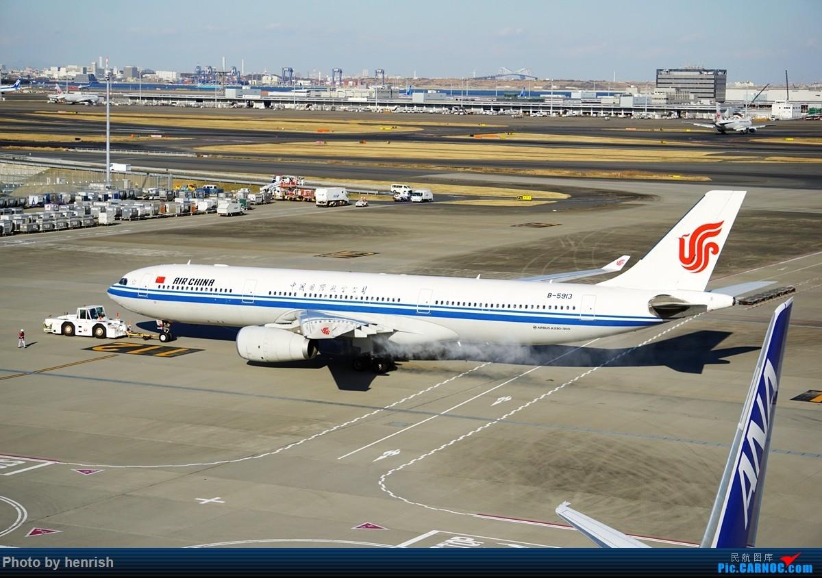 Re:[原创]【肥威的HND】游日本,羽田转机时两个观景台随手拍。【 广东青少年拍机小队】【广州,你好!】 AIRBUS A330-300 B-5913 日本东京羽田国际机场