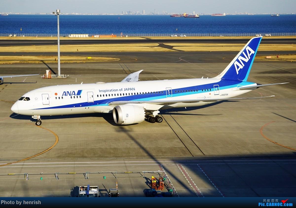Re:[原创]【肥威的HND】游日本,羽田转机时两个观景台随手拍。【 广东青少年拍机小队】【广州,你好!】 BOEING 787-8 JA825A 日本东京羽田国际机场