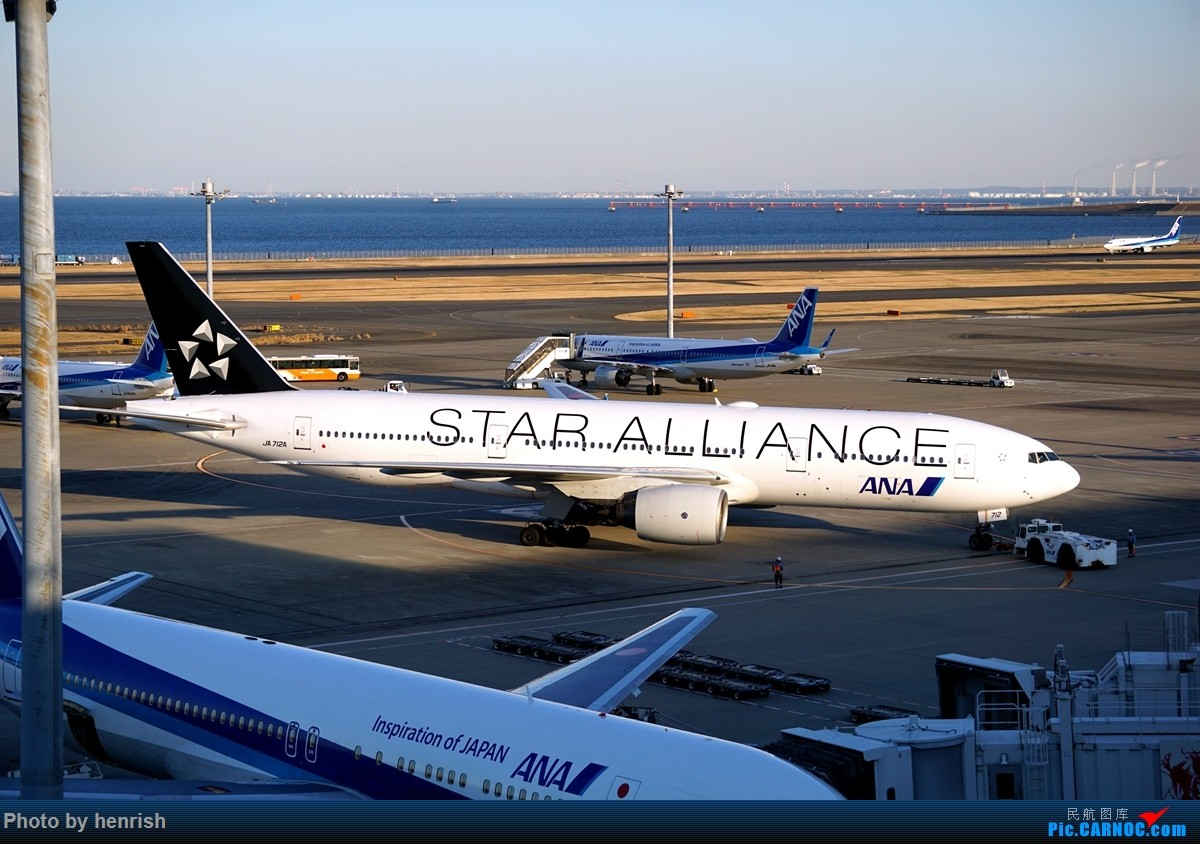 Re:【肥威的HND】游日本,羽田转机时两个观景台随手拍。【 广东青少年拍机小队】【广州,你好!】 BOEING 777-200 JA712A 日本东京羽田国际机场
