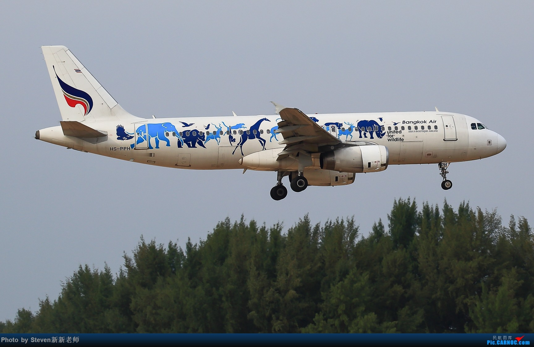 "Re:[原创]亚洲""圣马丁岛""—普吉国际机场拍机 AIRBUS A320-200 HS-PPH 泰国普吉机场"
