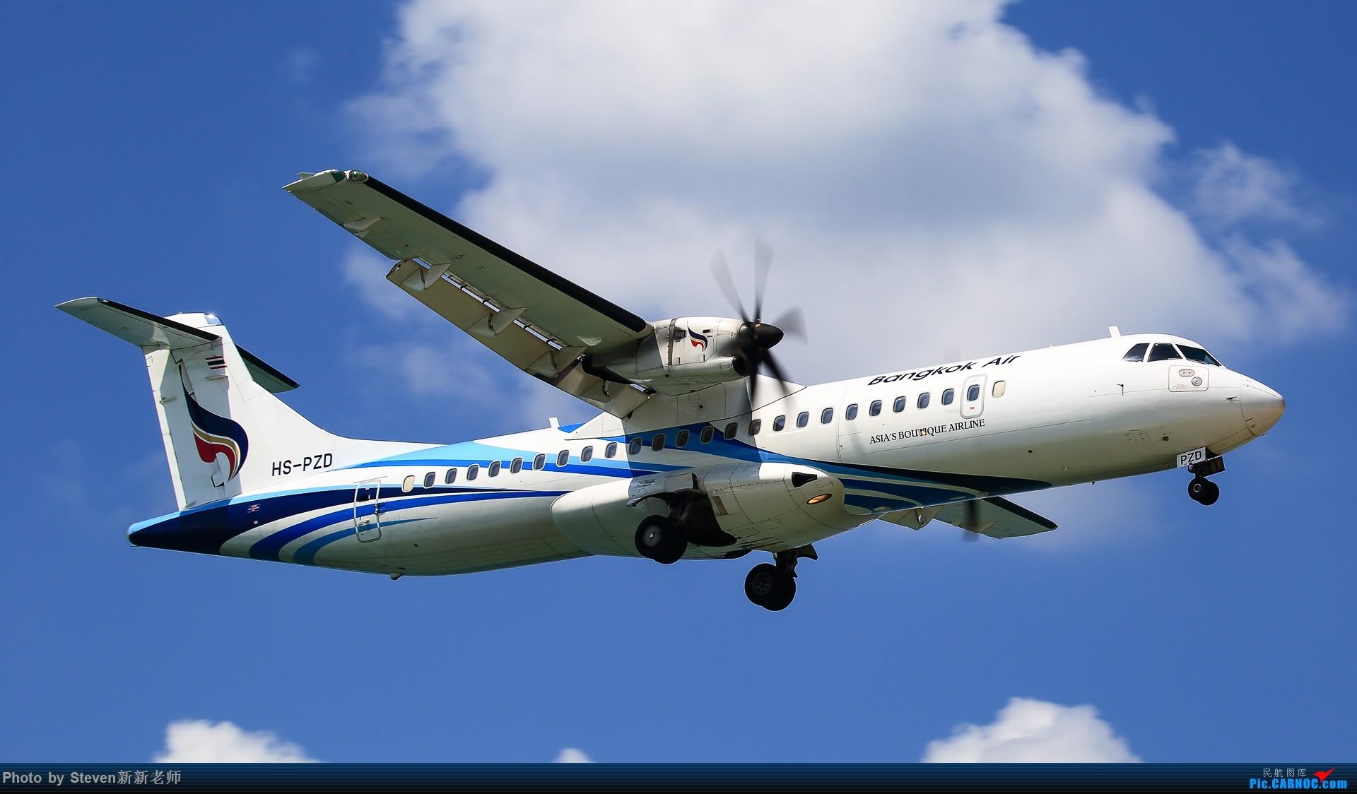 """Re:[原创]亚洲""""圣马丁岛""""—普吉国际机场拍机 ATR-72 HS-PZD 泰国普吉机场"""
