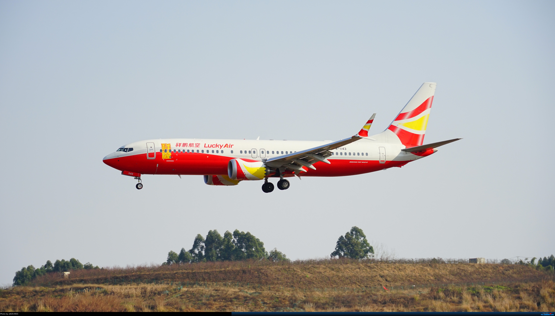 [原创]过年前趁着好天气去CTU二跑拍几张 BOEING 737MAX-8 B-1143 中国成都双流国际机场