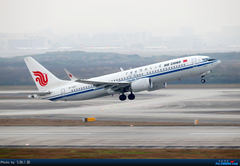 Re:[原创]CKG拍机(2019春运拍机之一) BOEING 737MAX-8 B-1221 重庆江北国际机场