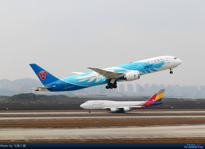 Re:[原创]CKG拍机(2019春运拍机之一) BOEING 787-9 B-1242 重庆江北国际机场