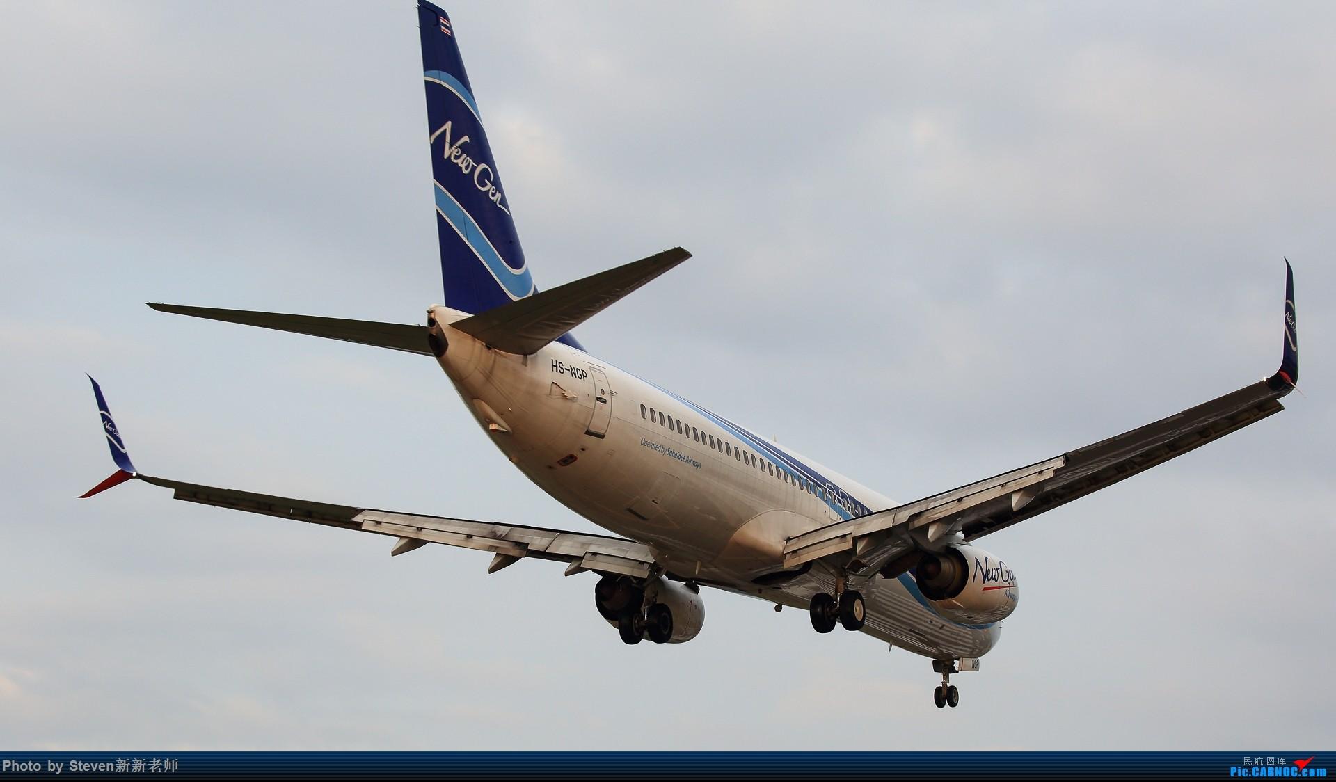 "Re:[原创]亚洲""圣马丁岛""—普吉国际机场拍机 BOEING 737-800 HS-NGP 泰国普吉机场"