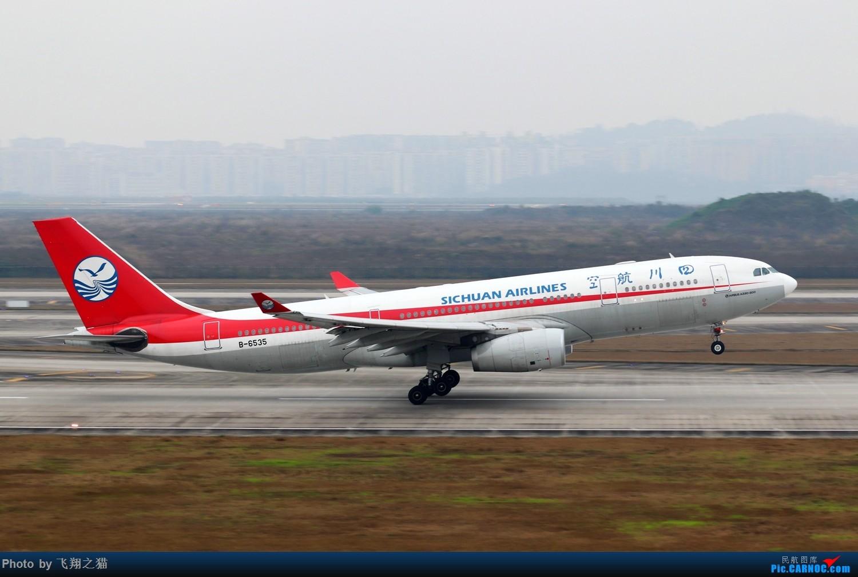 Re:[原创]CKG拍机(2019春运拍机之一) AIRBUS A330-200 B-6535 重庆江北国际机场