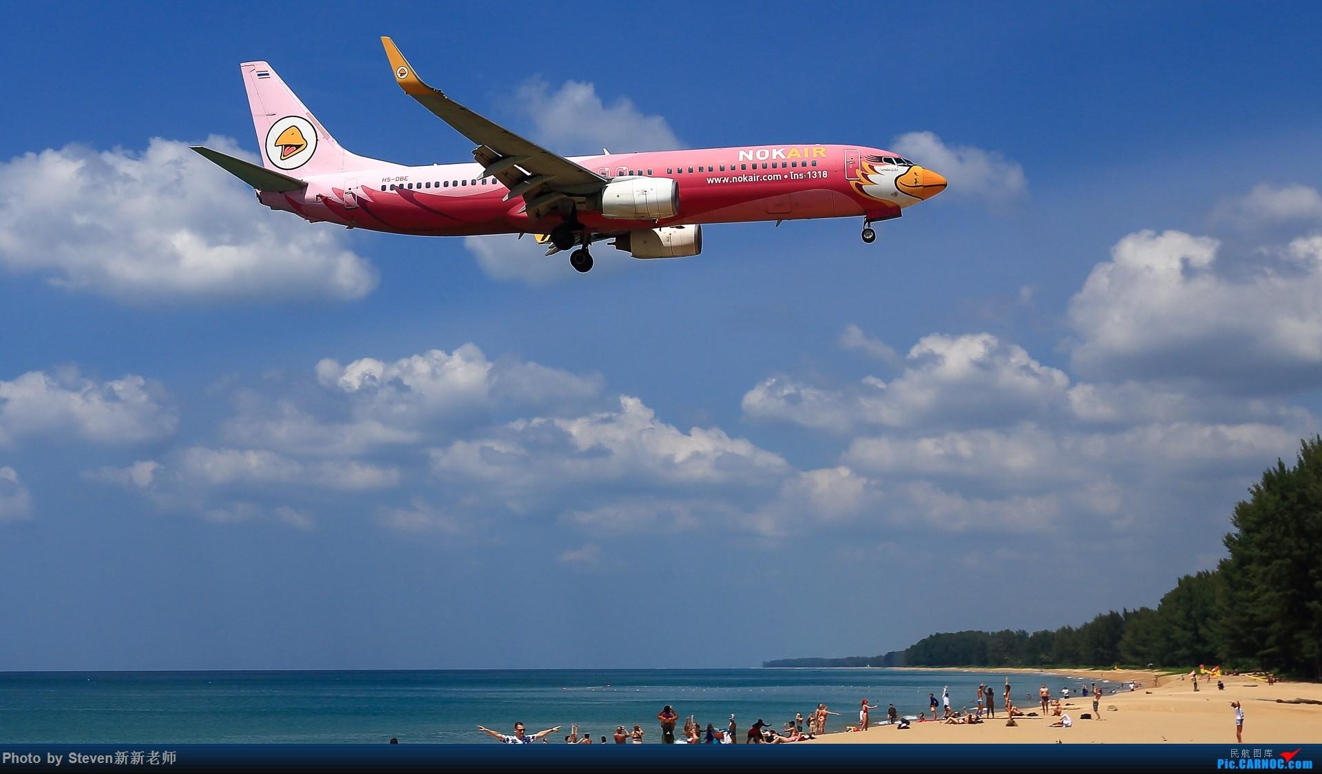 """Re:[原创]亚洲""""圣马丁岛""""—普吉国际机场拍机 BOEING 737-800 HS-DBE 泰国普吉机场"""