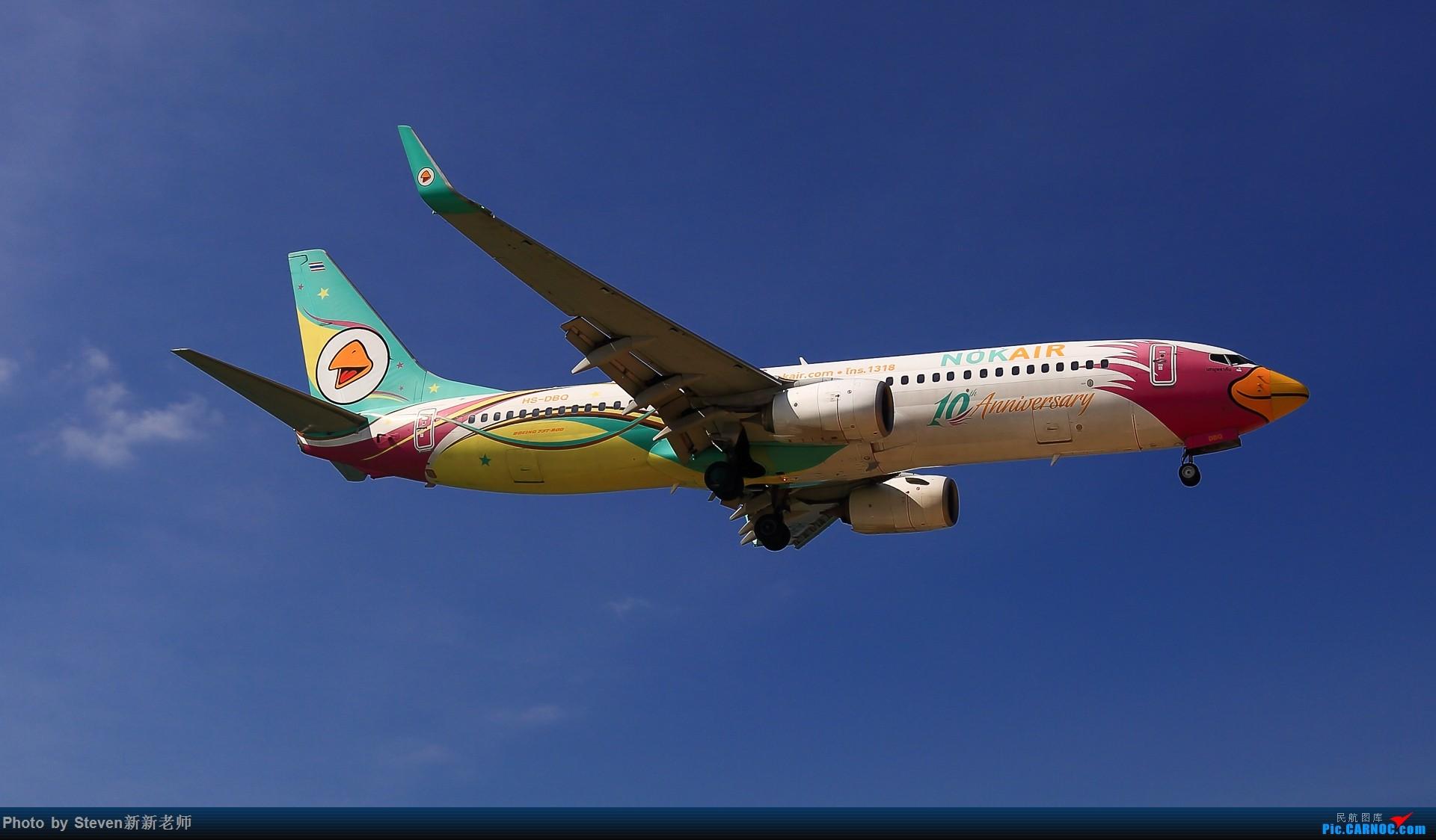 """Re:[原创]亚洲""""圣马丁岛""""—普吉国际机场拍机 BOEING 737-800 HS-DBQ 泰国普吉机场"""