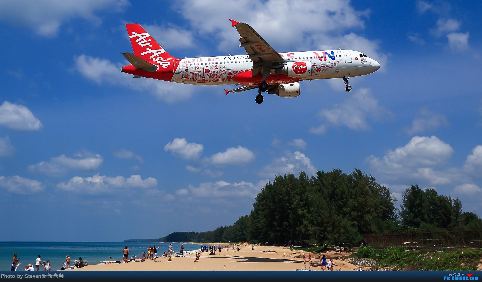"""Re:[原创]亚洲""""圣马丁岛""""—普吉国际机场拍机 AIRBUS A320-200 9M-AHX 泰国普吉机场"""