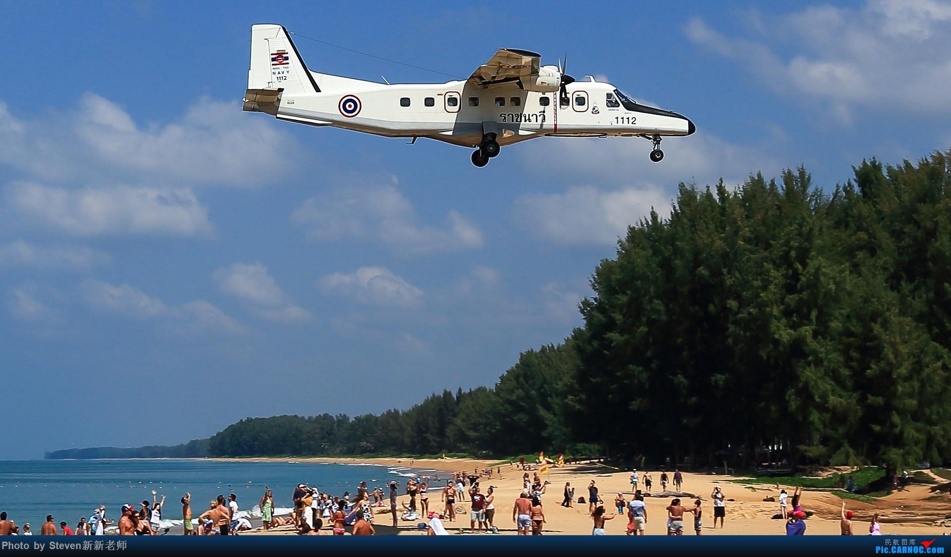 """Re:[原创]亚洲""""圣马丁岛""""—普吉国际机场拍机 DORNIER 228  泰国普吉机场"""