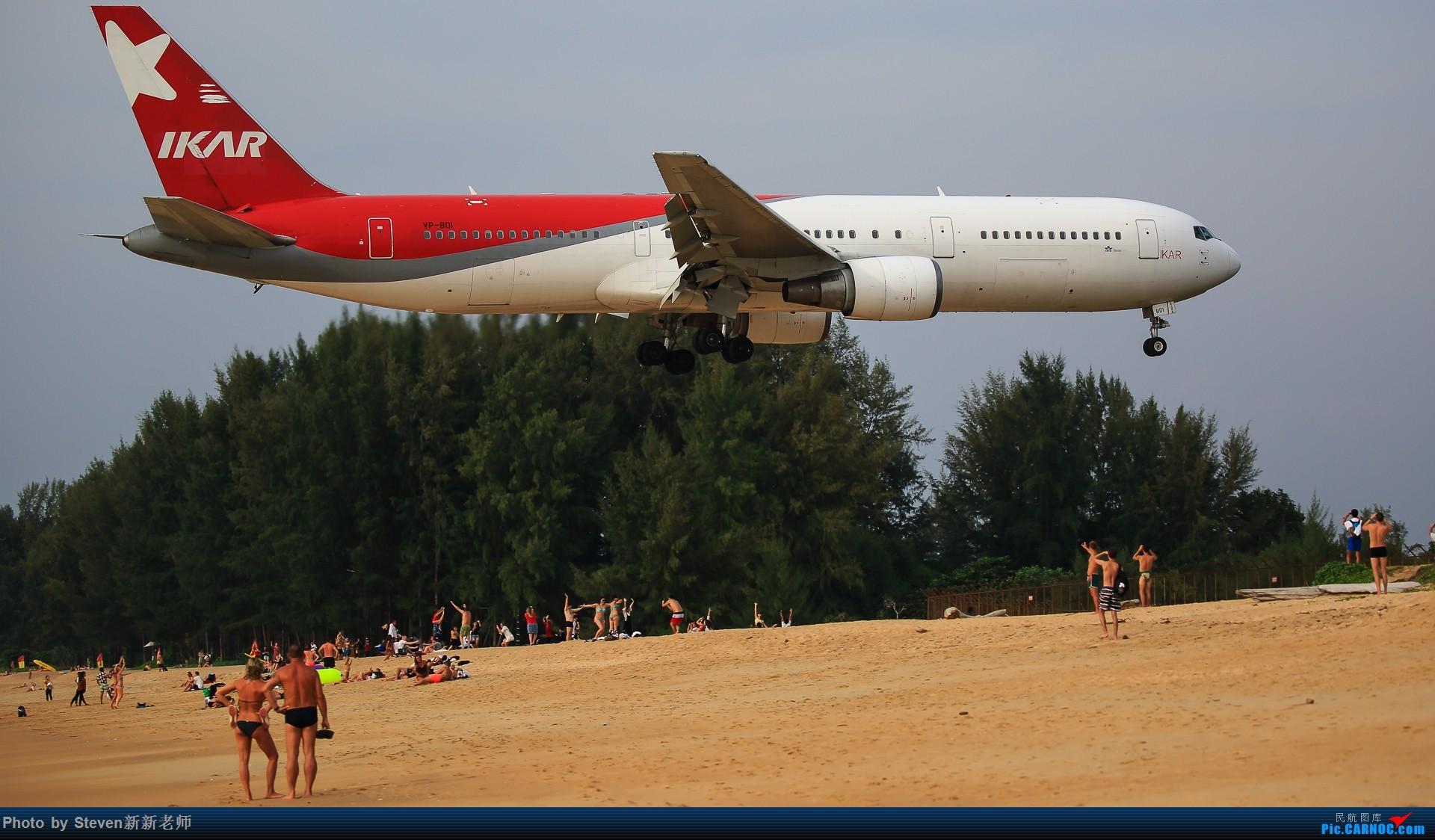 """Re:[原创]亚洲""""圣马丁岛""""—普吉国际机场拍机 BOEING 767-300ER VP-BDI 泰国普吉机场"""