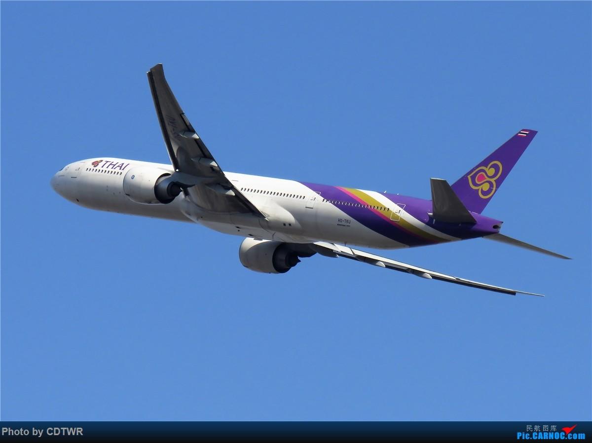 Re:爆表的成都-大年二十九 BOEING 777-300ER HS-TKU 中国成都双流国际机场