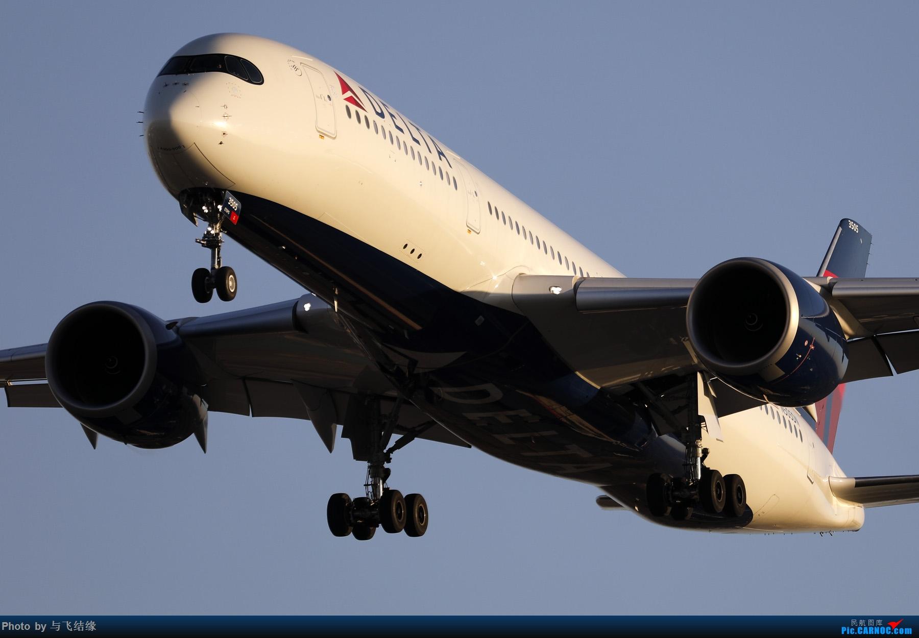 "Re:[原创]农历三十再发一贴,祝朋友们新年""猪""事顺利,吉祥如意! AIRBUS A350-900 N505DN 中国北京首都国际机场"