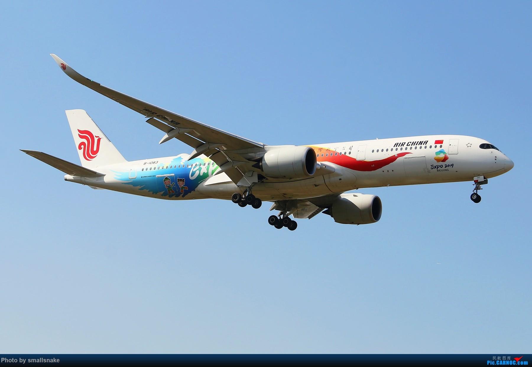 [原创]机压图,CAN拍机... AIRBUS A350-900 B-1083 广州白云国际机场