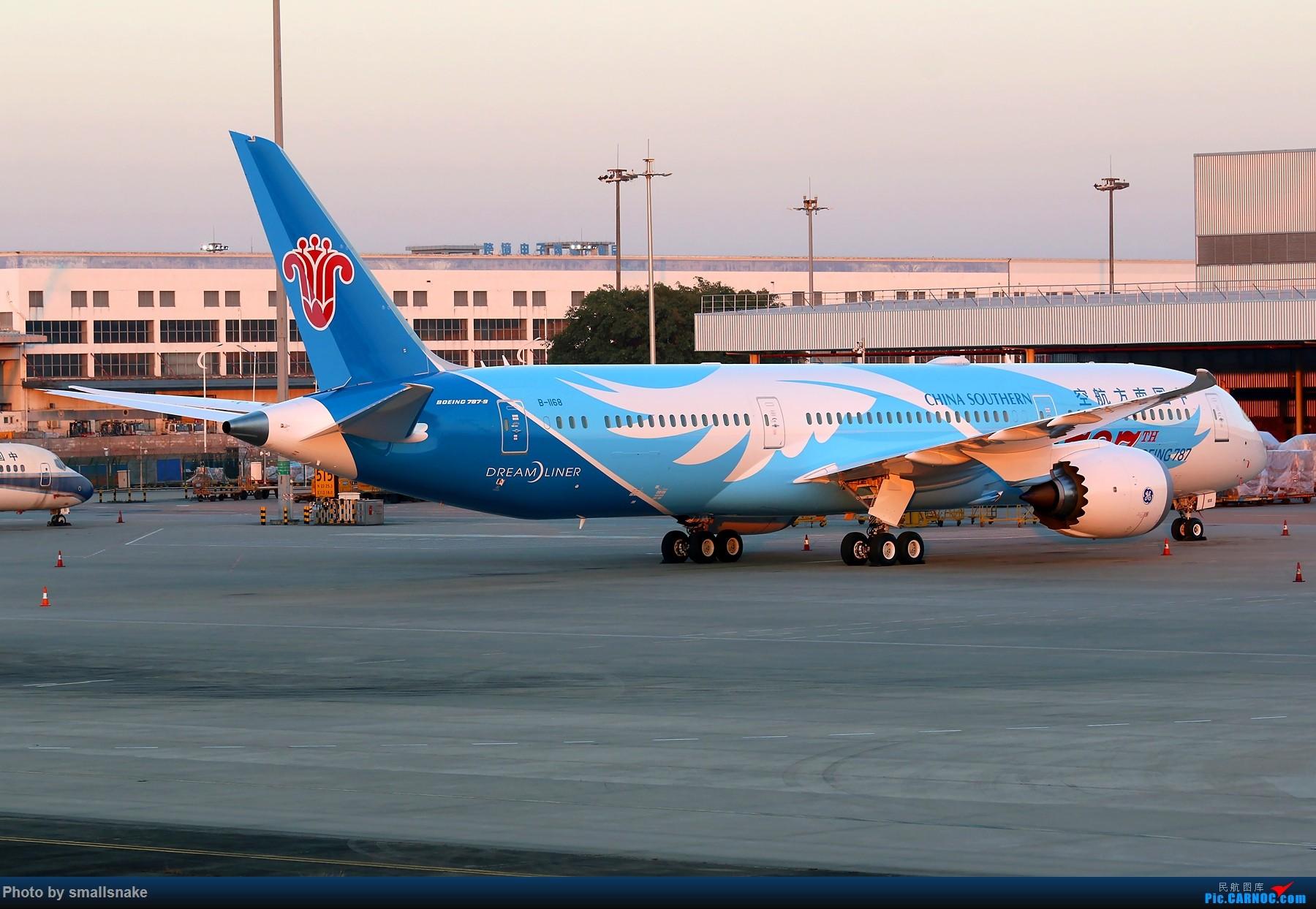 Re:[原创]机压图,CAN拍机... BOEING 787-9 B-1168 广州白云国际机场