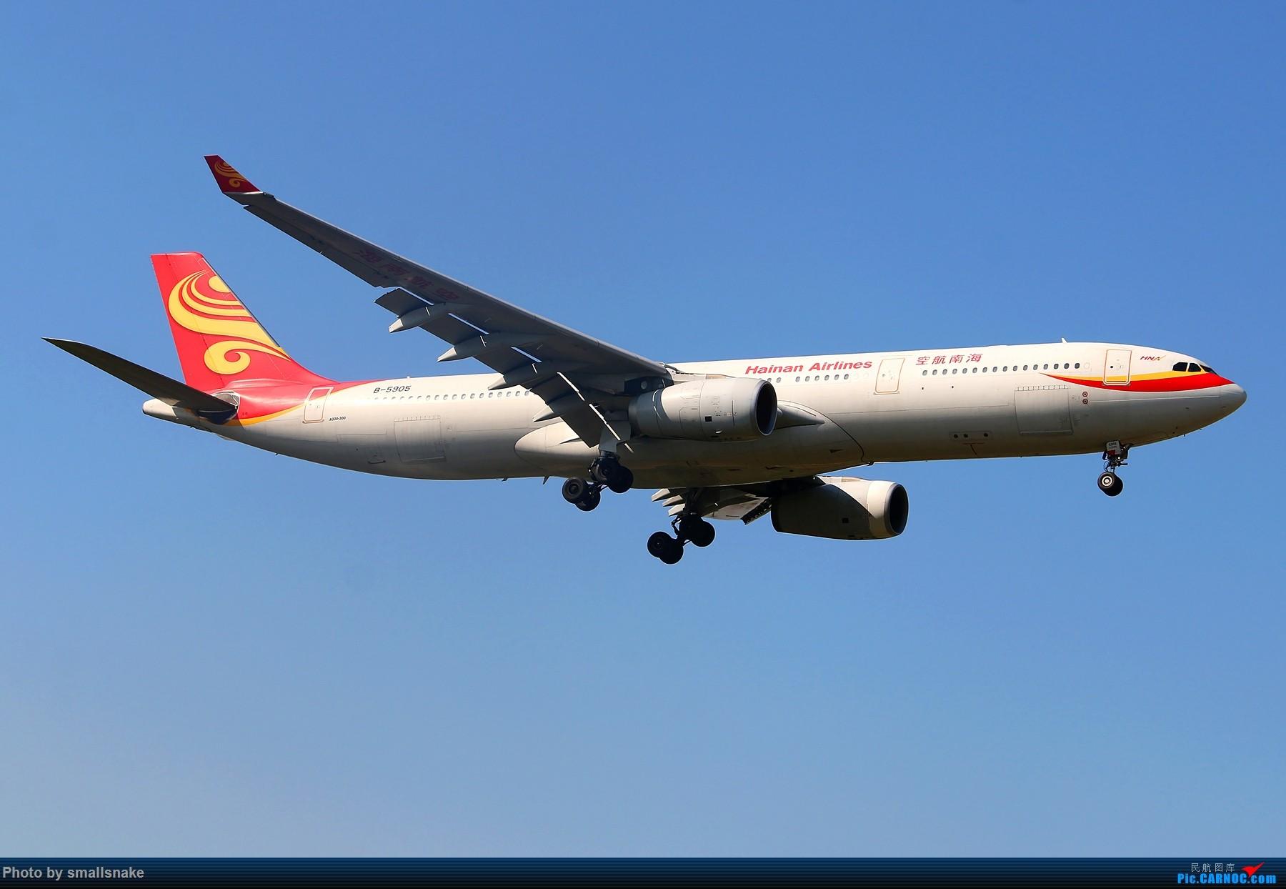 Re:[原创]机压图,CAN拍机... AIRBUS A330-300 B-5905 广州白云国际机场