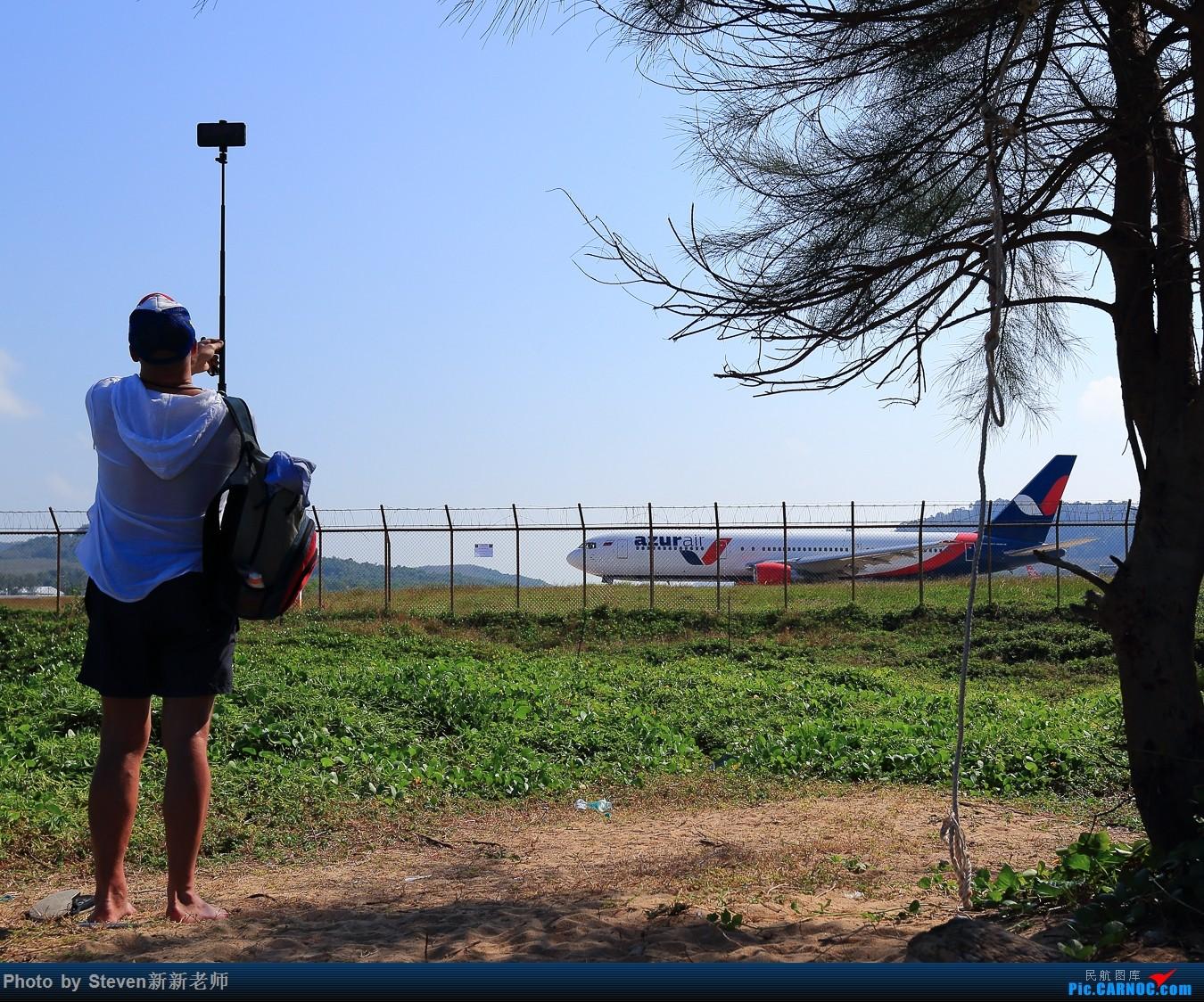 """Re:[原创]亚洲""""圣马丁岛""""—普吉国际机场拍机 BOEING 767-300ER  泰国普吉机场"""