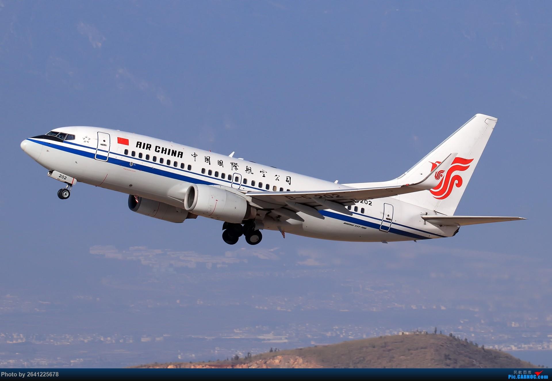 Re:[原创]【DLU】又见云南——大理拍机 BOEING 737-700 B-5202 中国大理机场