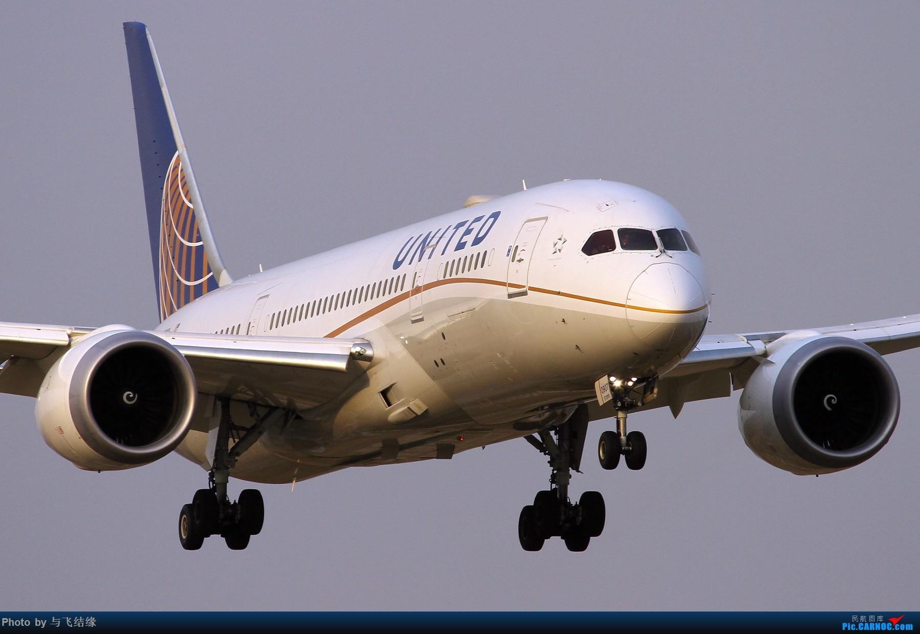"""Re:[原创]农历三十再发一贴,祝朋友们新年""""猪""""事顺利,吉祥如意! BOEING 787-8  中国北京首都国际机场"""