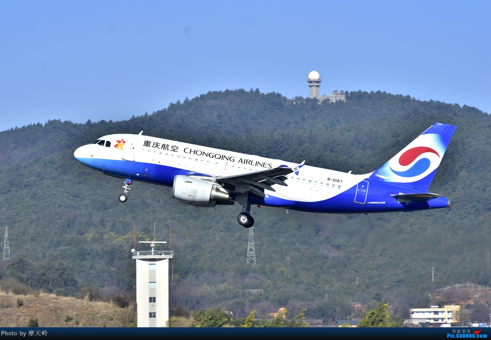 Re:[原创]长水小鸡鸡 AIRBUS A319-100 B-6187 中国昆明长水国际机场