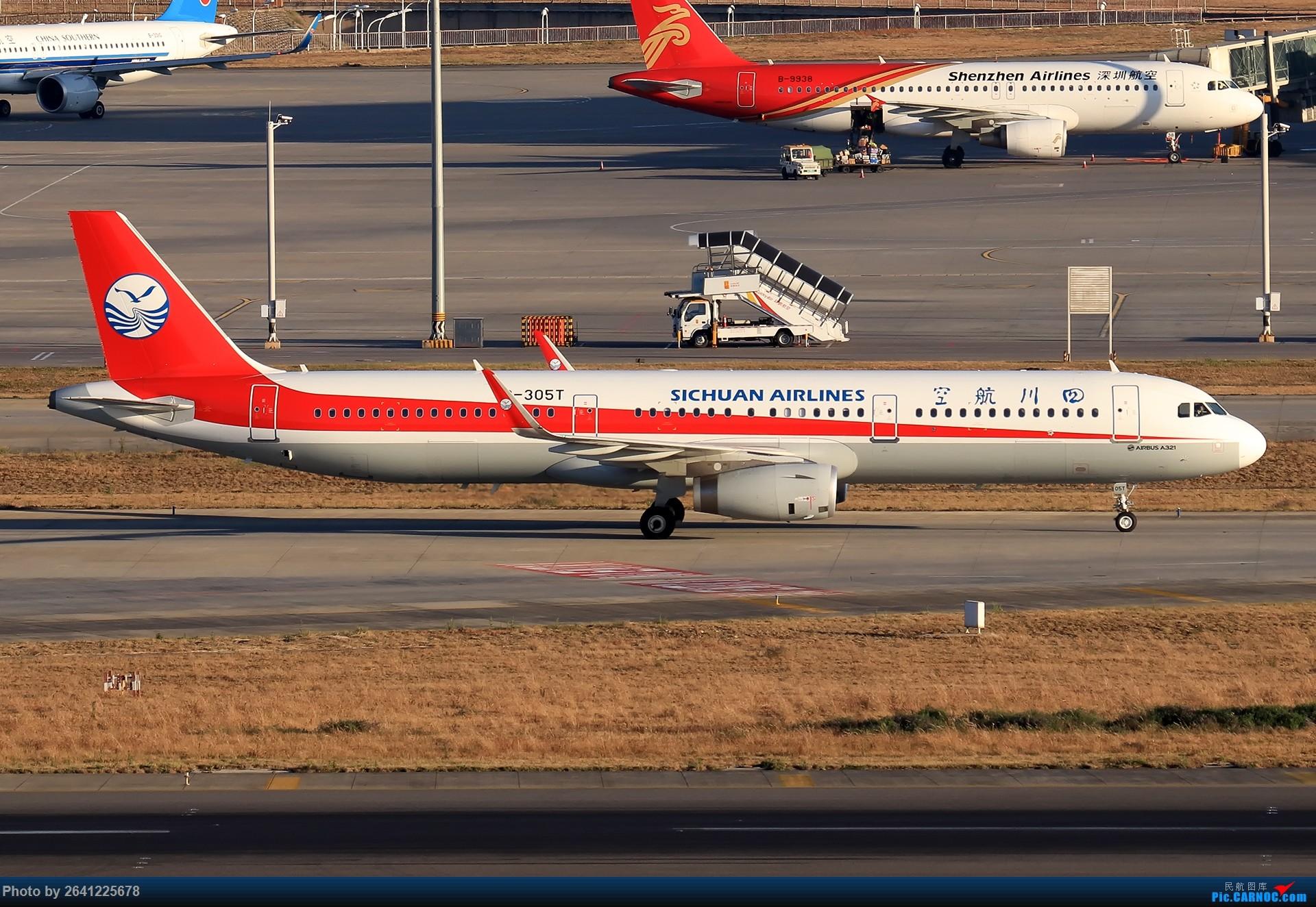 Re:[原创]【KMG】又见云南——昆明 AIRBUS A321-200 B-305T 中国昆明长水国际机场
