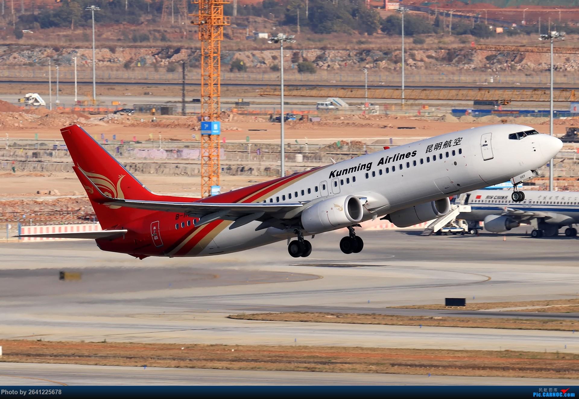 Re:[原创]【KMG】又见云南——昆明 BOEING 737-800 B-1107 中国昆明长水国际机场