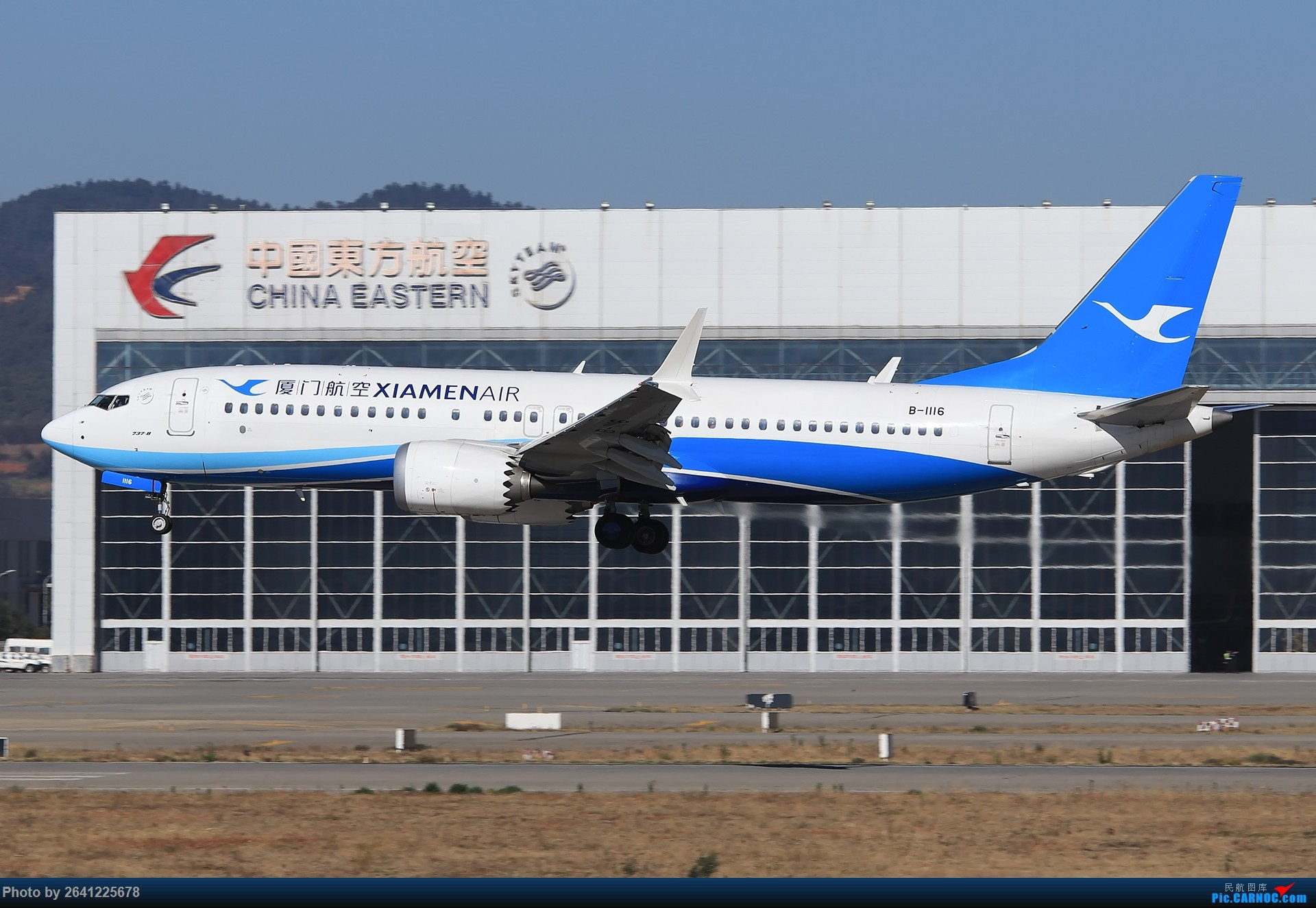 Re:[原创]【KMG】又见云南——昆明 BOEING 737MAX-8 B-1116 中国昆明长水国际机场