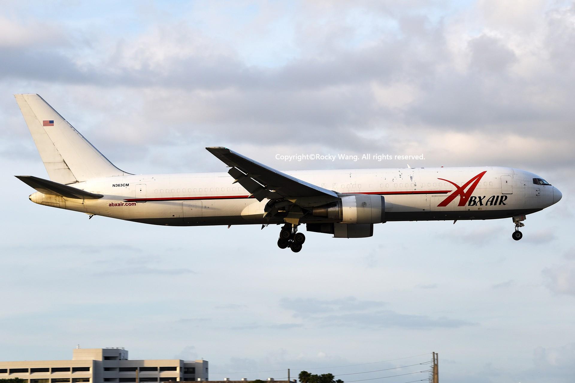 Re:[原创]KMIA 30图 BOEING 767-338(ER)(BDSF) N363CM Miami Int'l Airport
