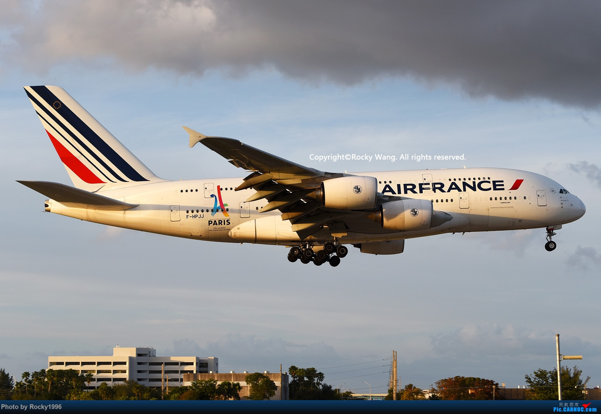 Re:[原创]KMIA 30图 AIRBUS A380-861 F-HPJJ Miami Int'l Airport