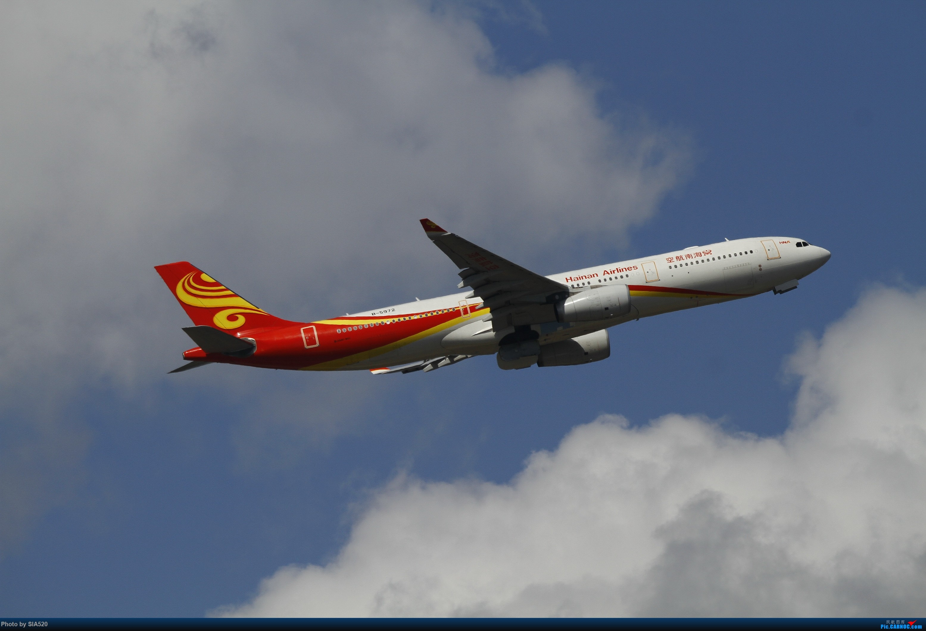 Re:[原创]北京人儿在三亚—600mm解锁凤凰 AIRBUS A330-300 B-5972 中国三亚凤凰国际机场