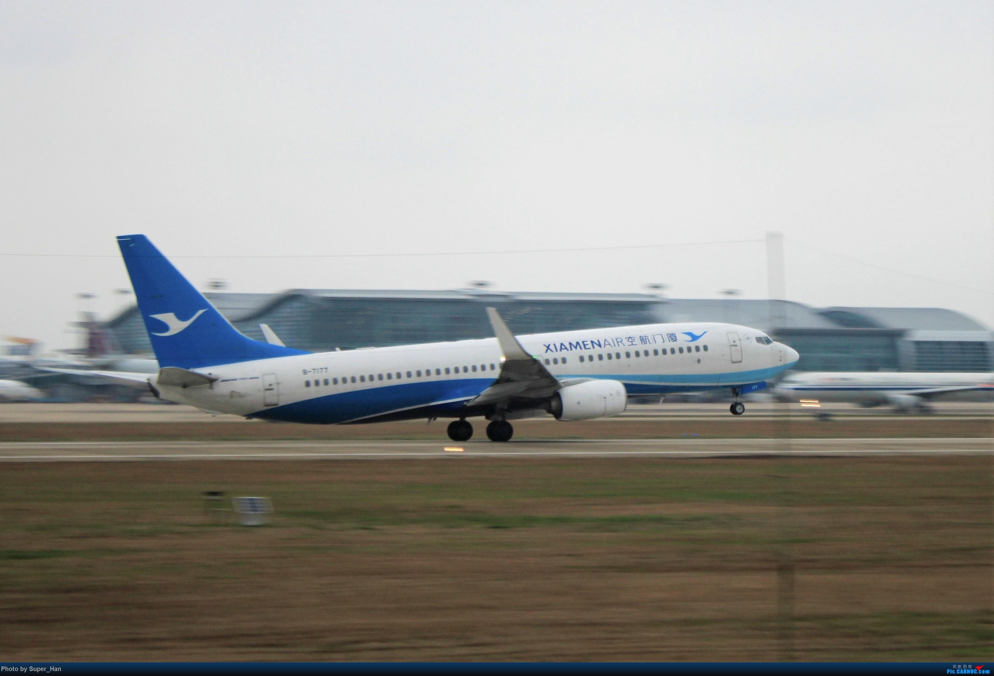Re:[原创]0208HGH转悠 BOEING 737-800 B-7177 中国杭州萧山国际机场