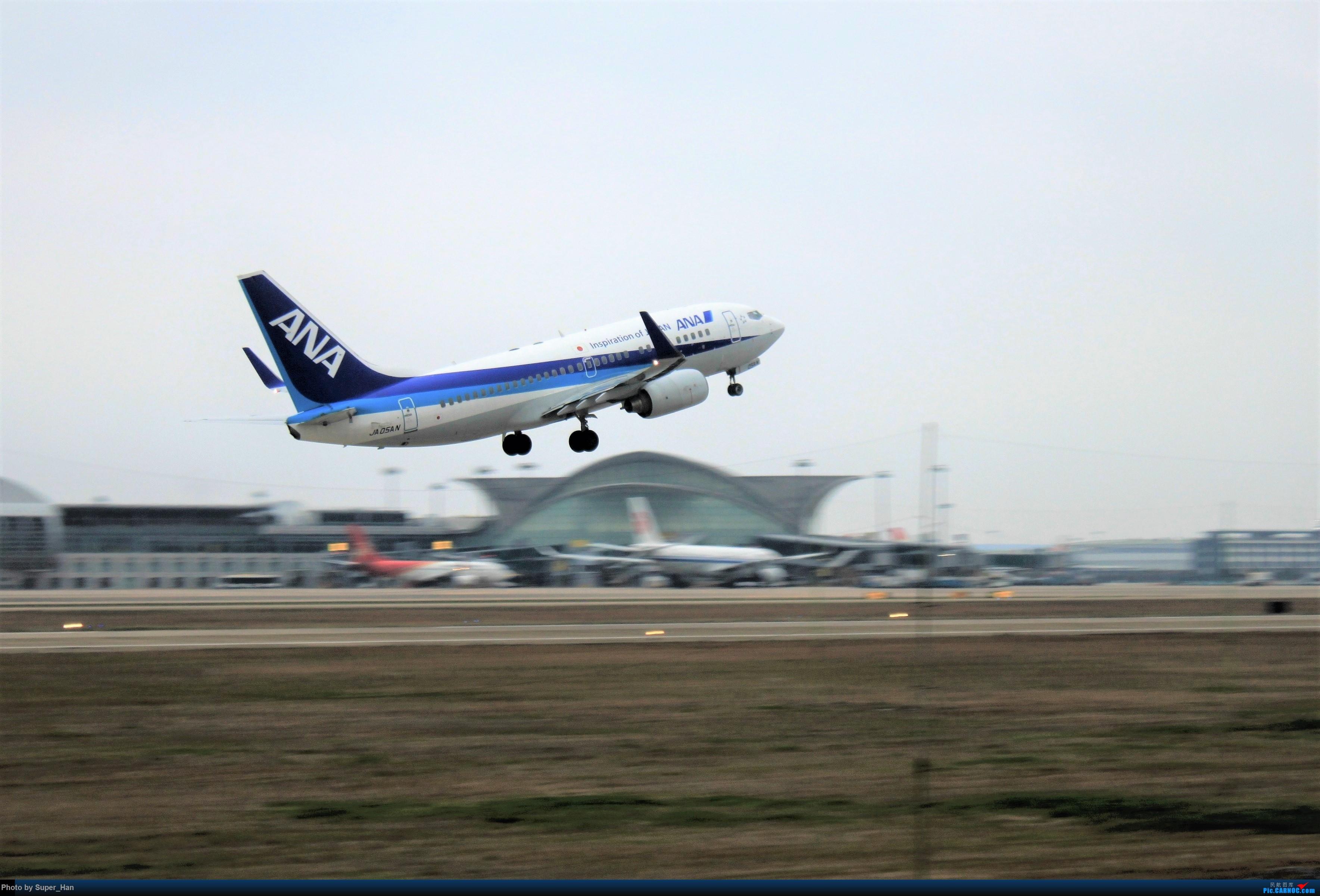 Re:[原创]0208HGH转悠 BOEING 737-700 JA05AN 中国杭州萧山国际机场