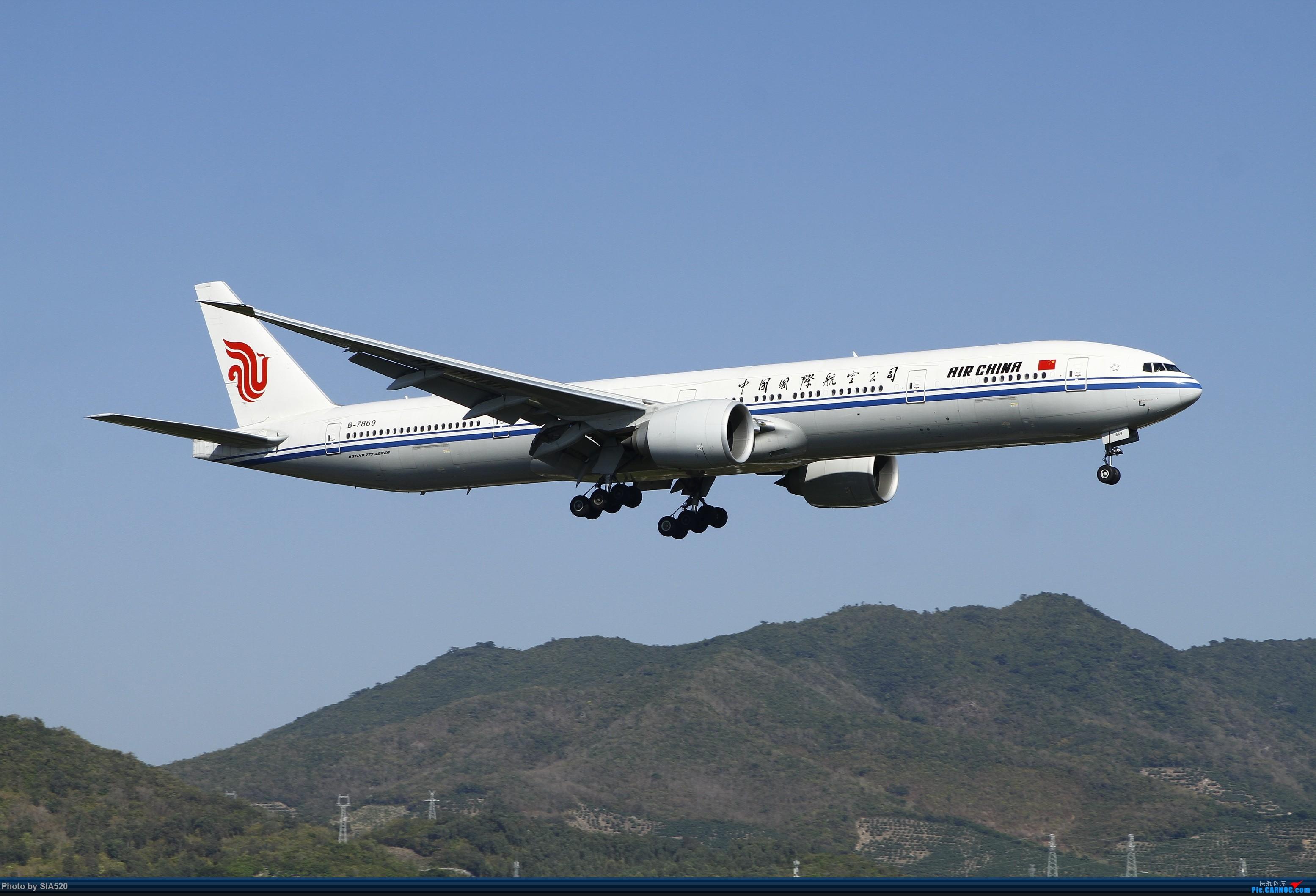 Re:[原创]北京人儿在三亚—600mm解锁凤凰 BOEING 777-300ER B-7869 中国三亚凤凰国际机场