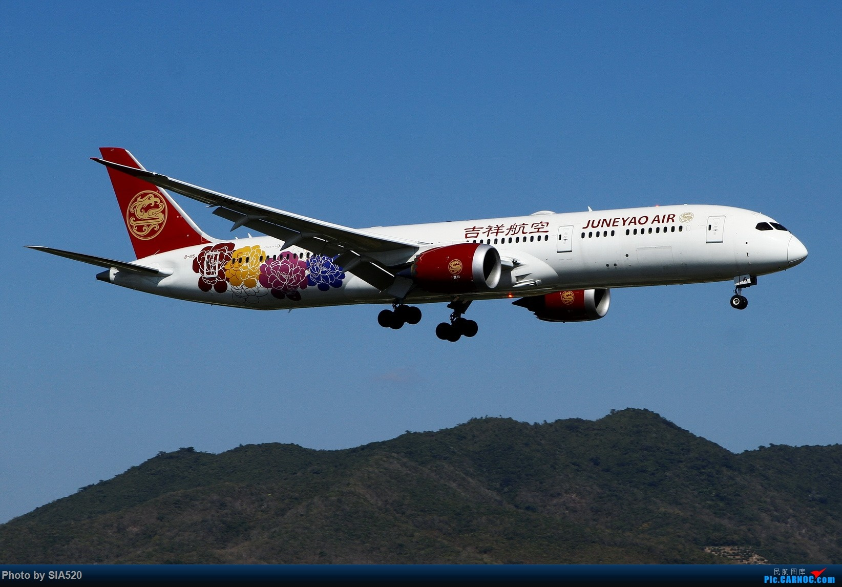 Re:[原创]北京人儿在三亚—600mm解锁凤凰 BOEING 787-9 B-1115 中国三亚凤凰国际机场