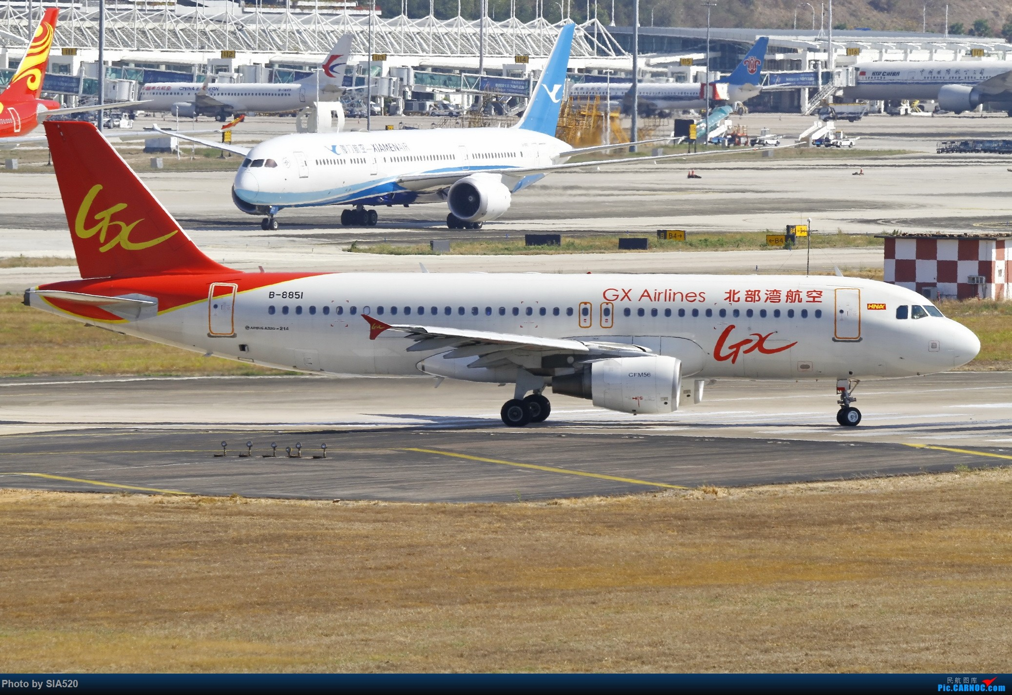 Re:[原创]北京人儿在三亚—600mm解锁凤凰 AIRBUS A320-200 B-8851 中国三亚凤凰国际机场