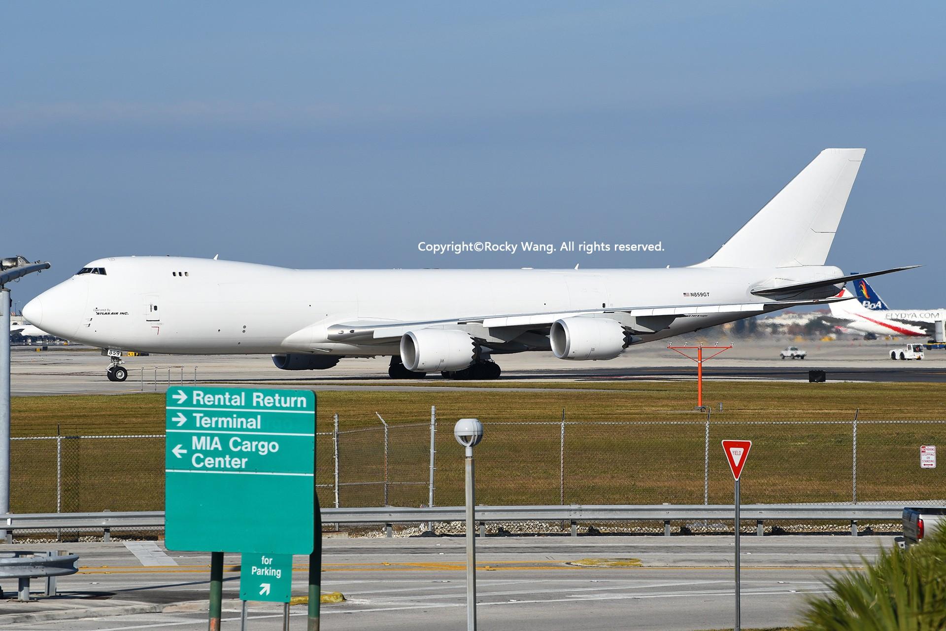 Re:[原创]KMIA 30图 BOEING 747-87UF N859GT Miami Int'l Airport