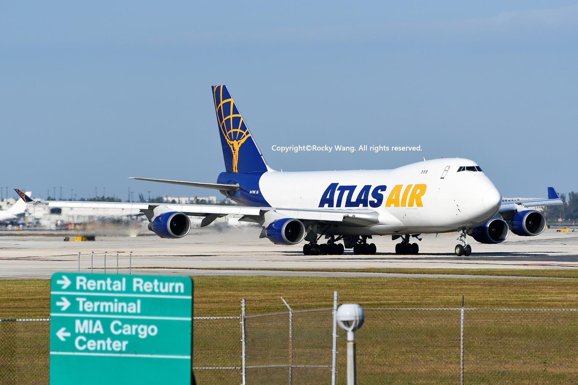 Re:[原创]KMIA 30图 BOEING 747-47UF(SCD) N477MC Miami Int'l Airport