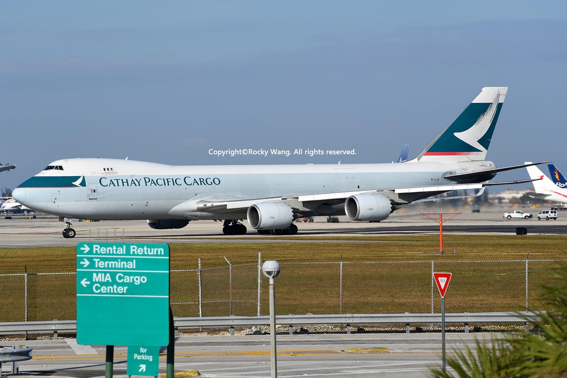 Re:[原创]KMIA 30图 BOEING 747-867F B-LJG Miami Int'l Airport