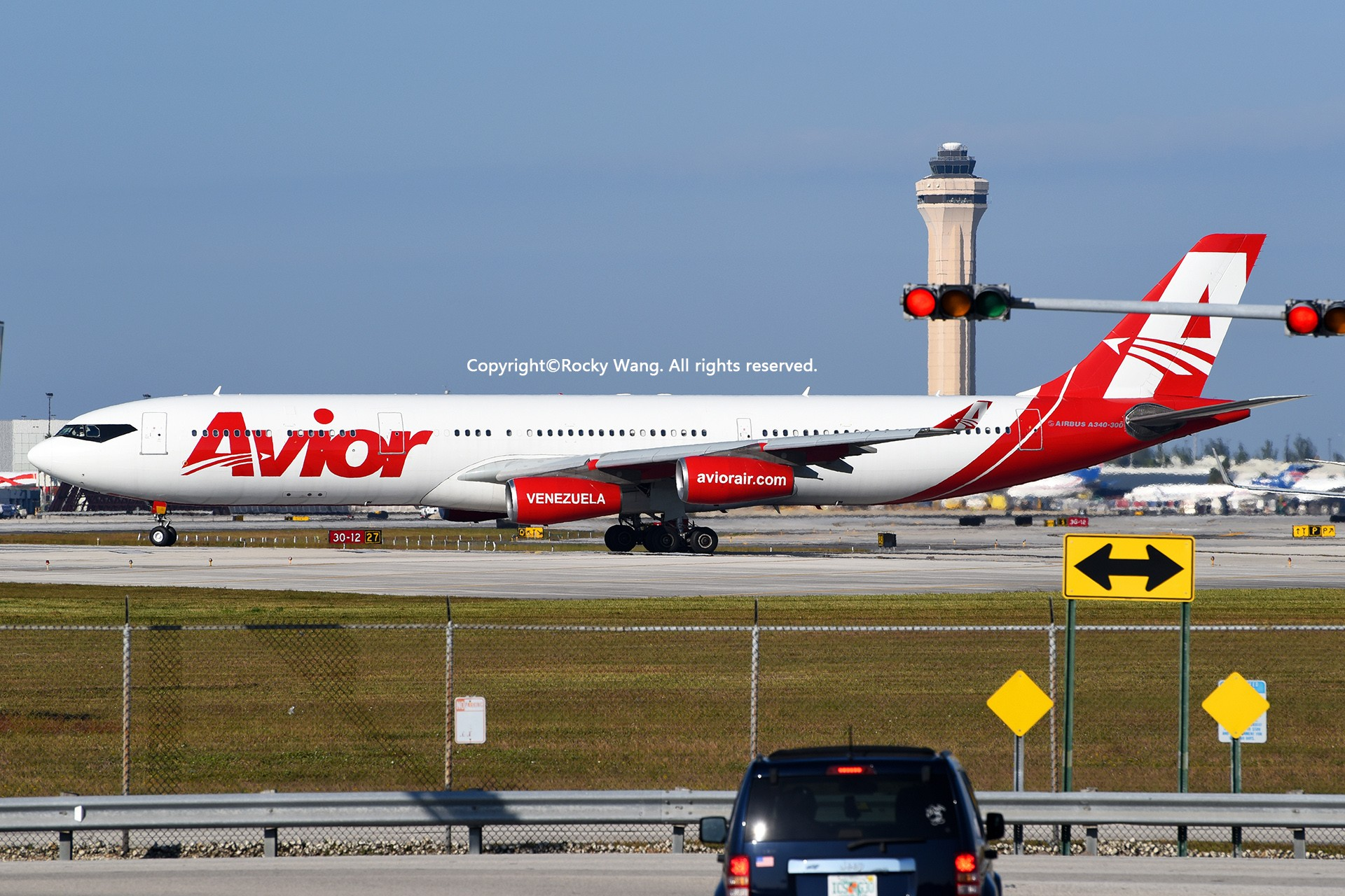 Re:[原创]KMIA 30图 AIRBUS A340-313X YV3292 Miami Int'l Airport