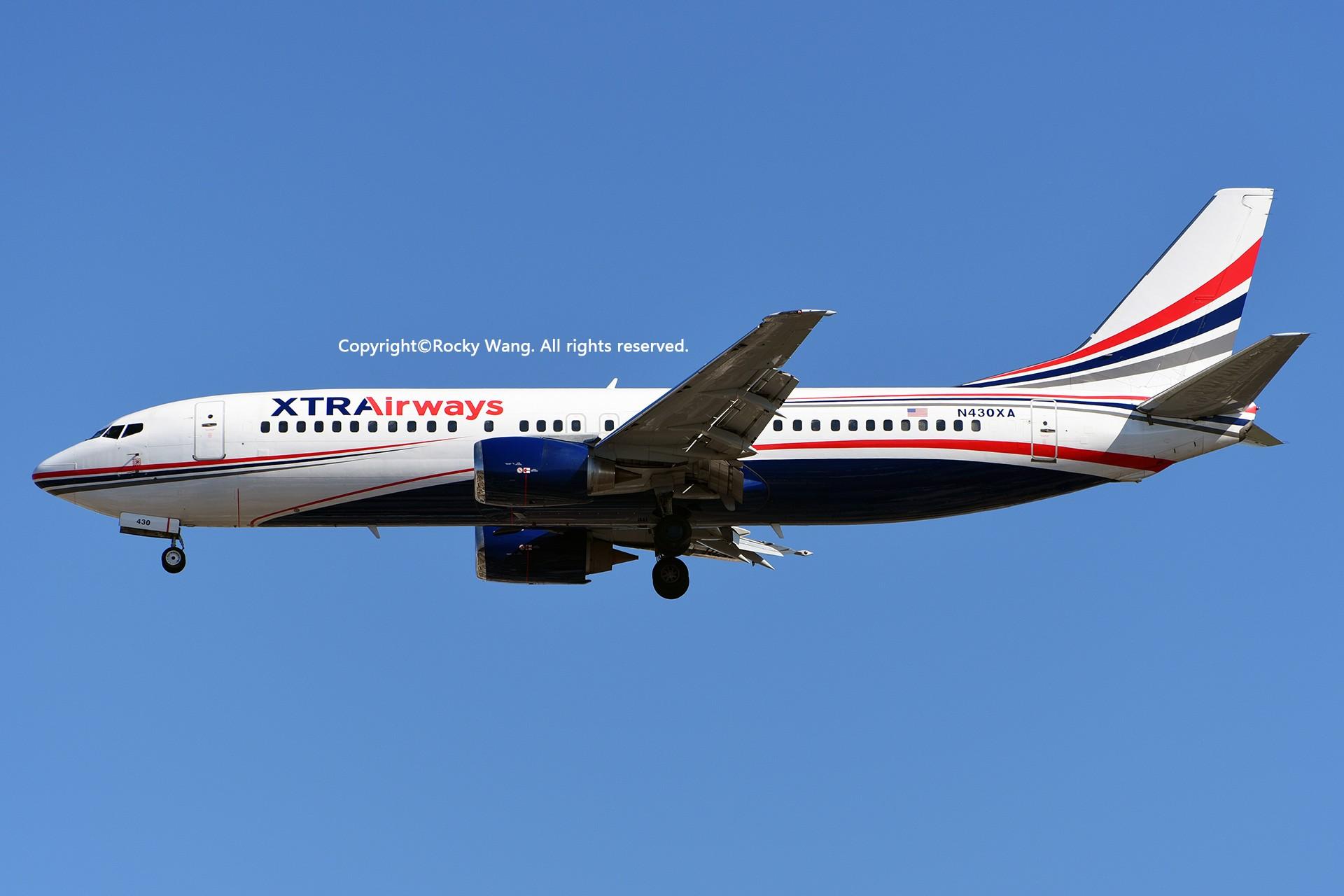 Re:[原创]KMIA 30图 BOEING 737-484 N430XA Miami Int'l Airport