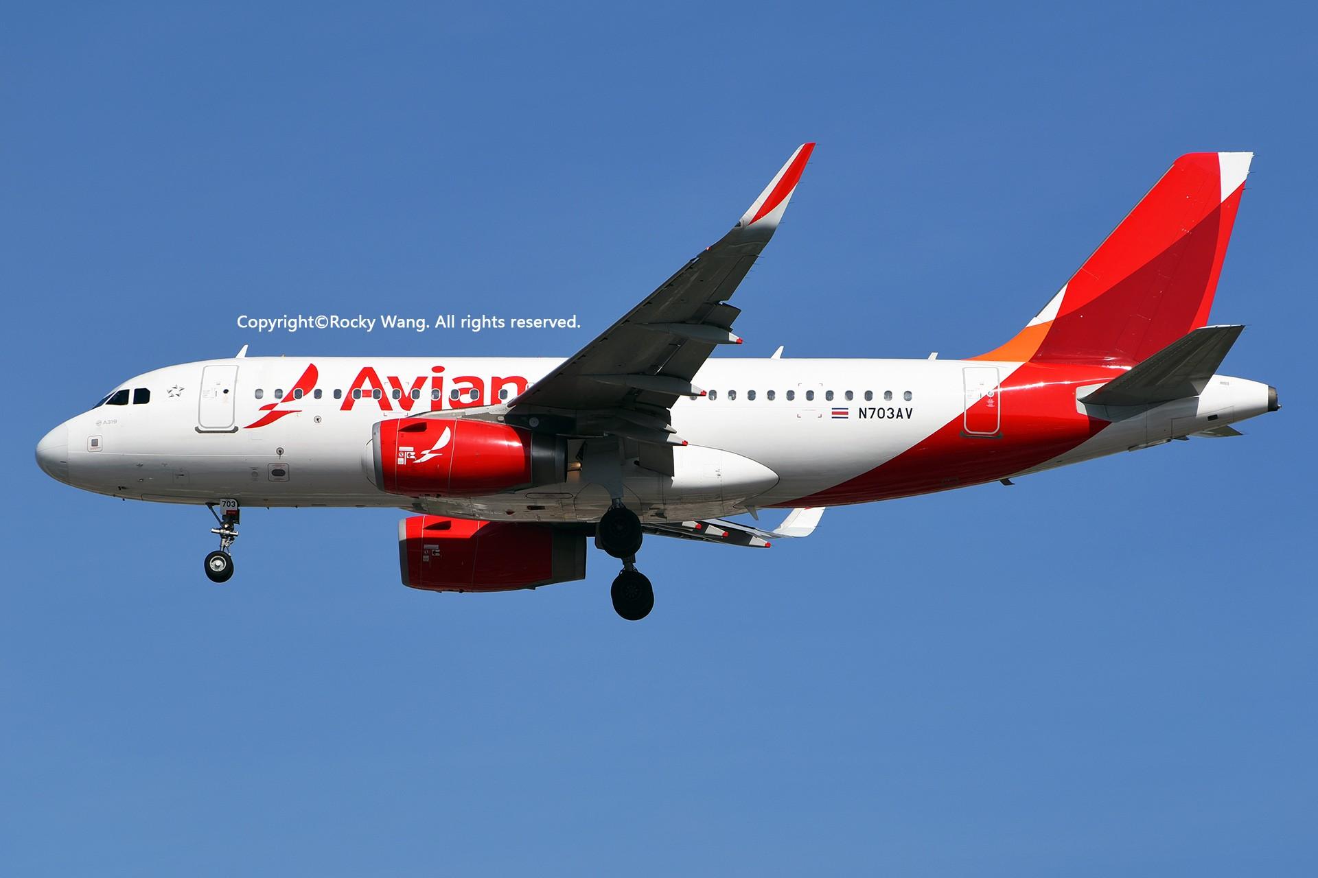 Re:[原创]KMIA 30图 AIRBUS A319-132 N703AV Miami Int'l Airport