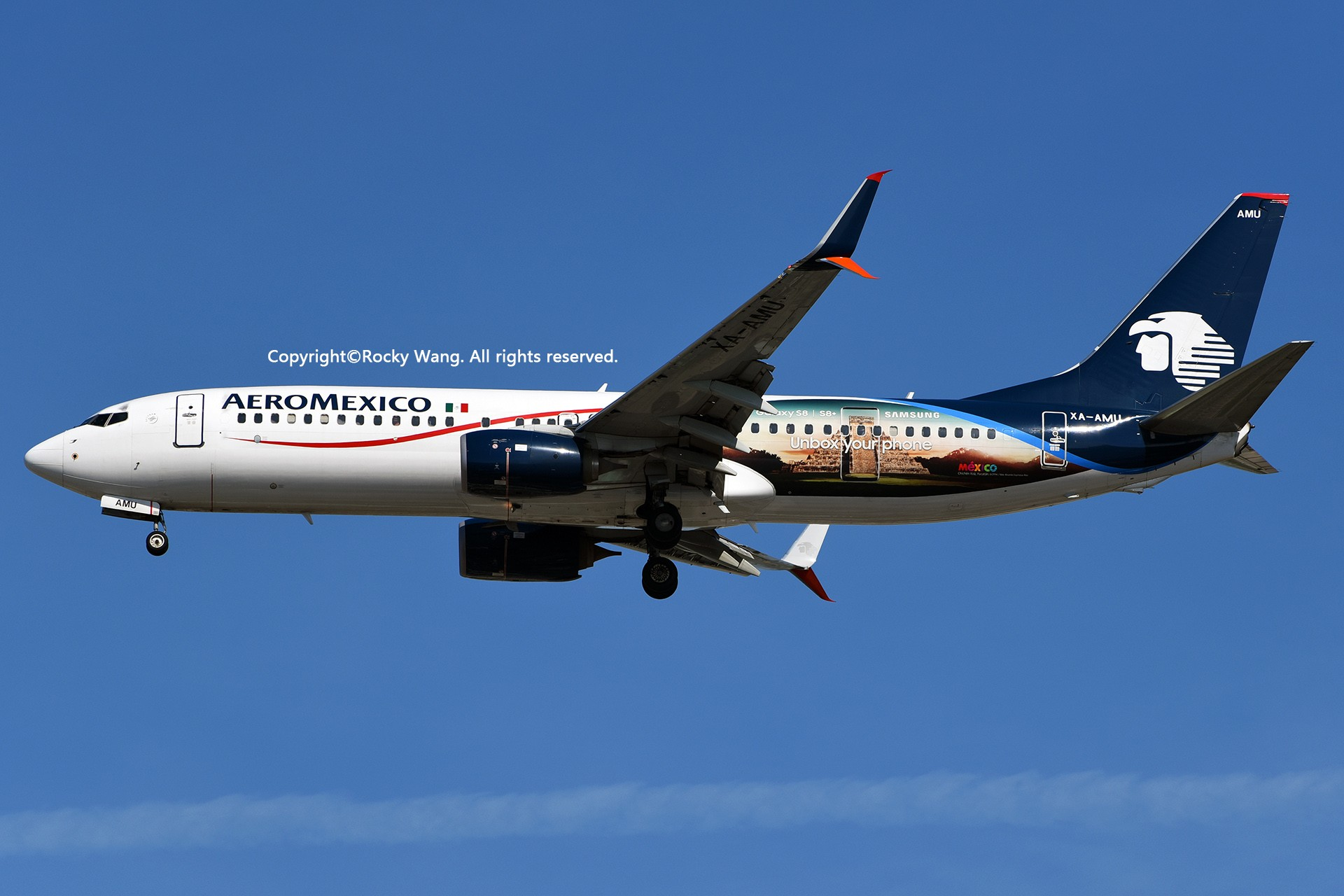 Re:[原创]KMIA 30图 BOEING 737-852 XA-AMU Miami Int'l Airport